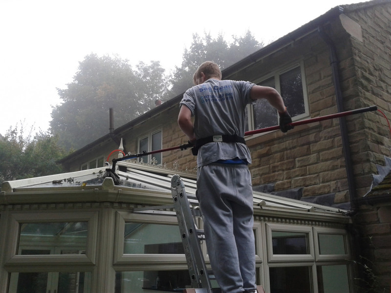 conservatory cleaning in west yorkshire