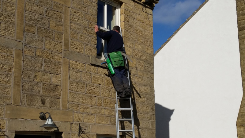 Window cleaner west Yorkshire