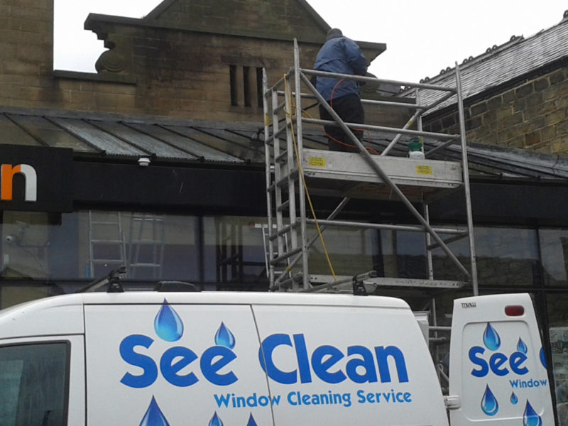 High level window cleaning west yorkshire
