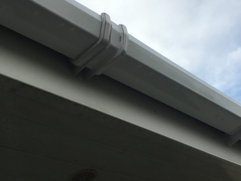 fasica and soffit cleaning in West Yorkshire